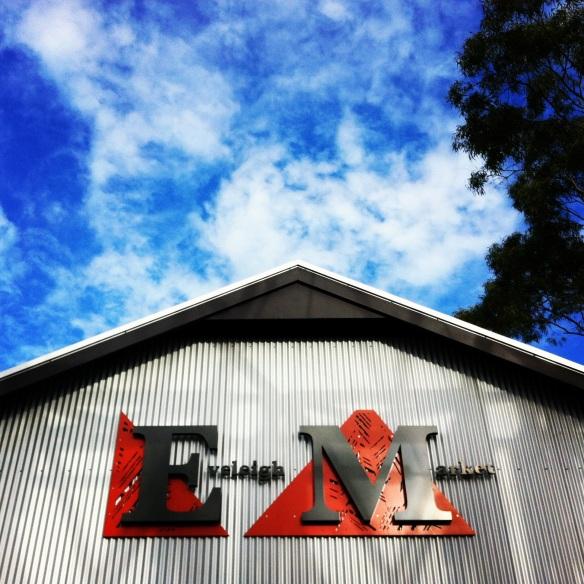 Eveleigh Markets entrance
