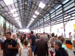Eveleigh Markets from the ground