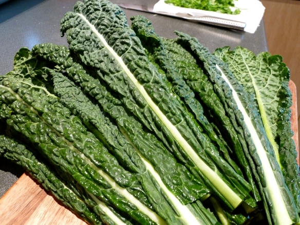 Bunch of cavolo nero