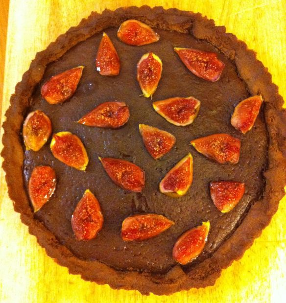 Fig & chocolate tart 3
