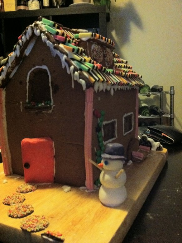 Gingerbread house of 2010