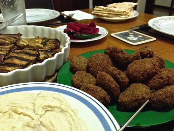 Bowl of falafel