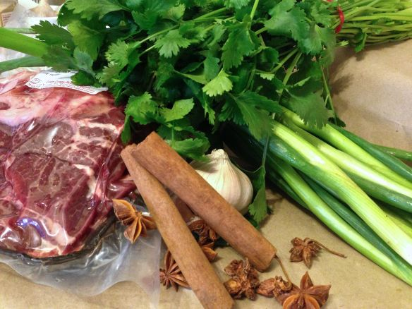 ingredients for beef cheeks