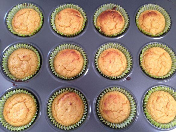 cooked blood orange cupcakes